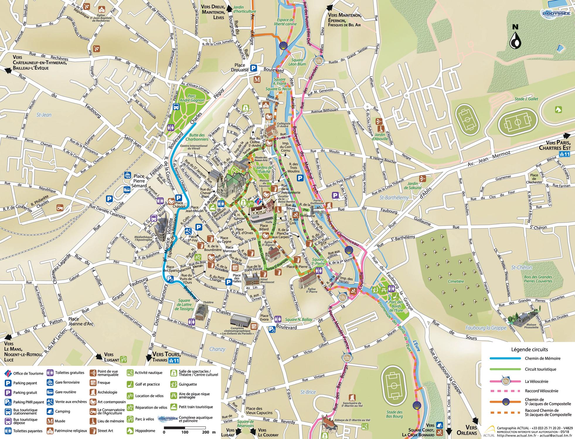 6d9b5f14bec735 Télécharger le plan de l hypercentre de Chartres (2.34Mo). À Chartres, Q- Park ...
