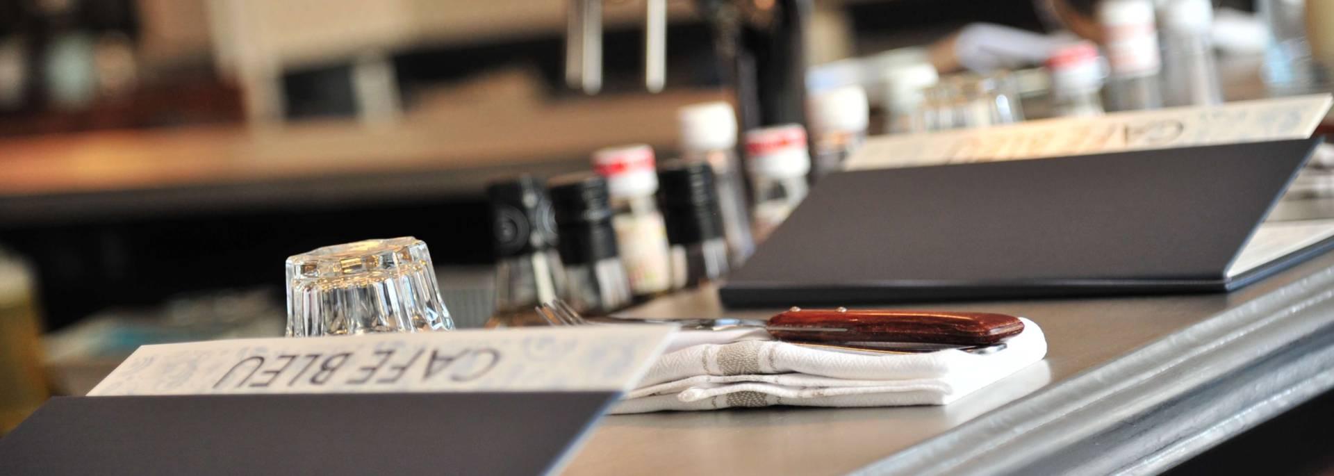 Comptoir du Café Bleu à Chartres