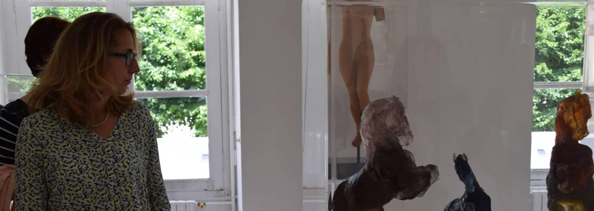 Exposition de Jean-Louis Sauvat au musée des Beaux-Arts de Chartres