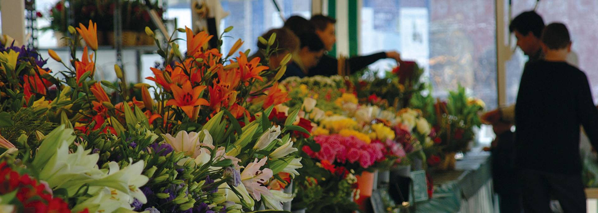 Flower market, Place du Cygne