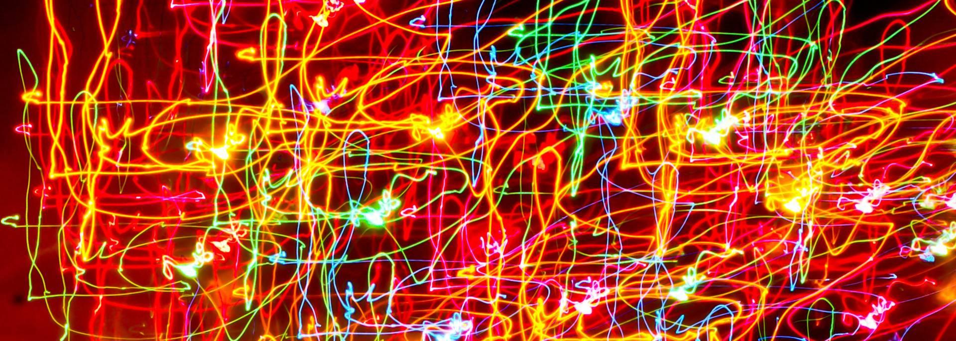 Jeux de lumières en light painting