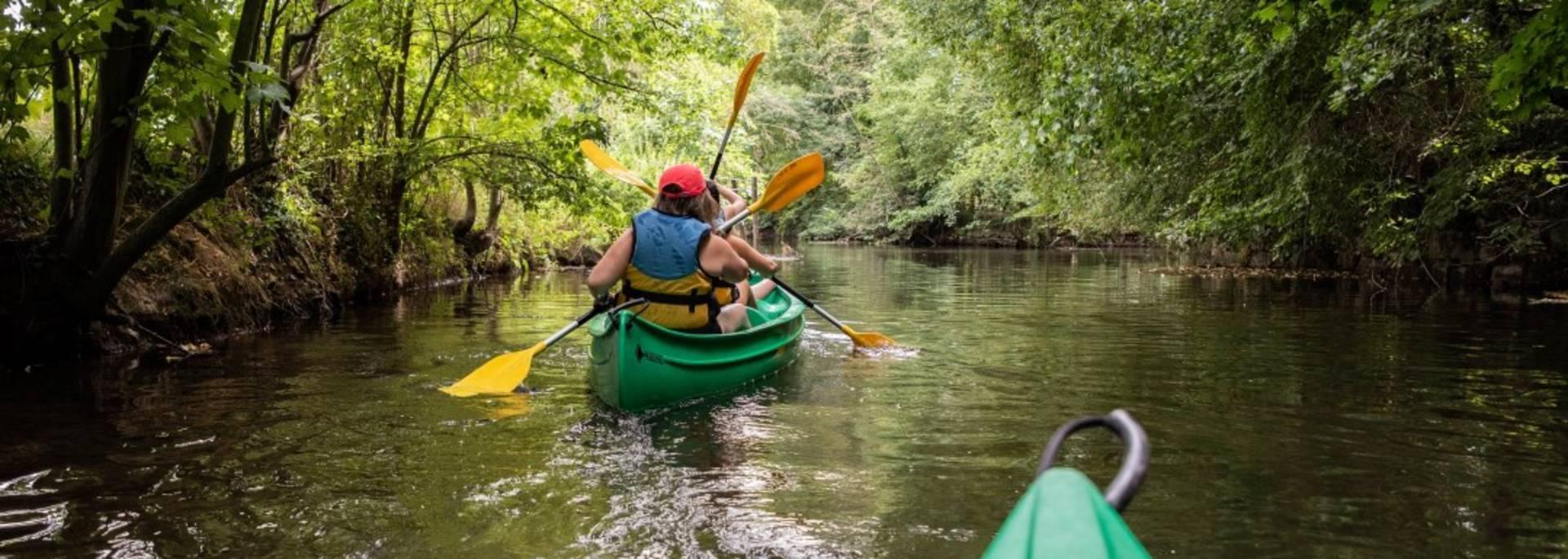 Balade en canoë kayak en Terres de Chartres