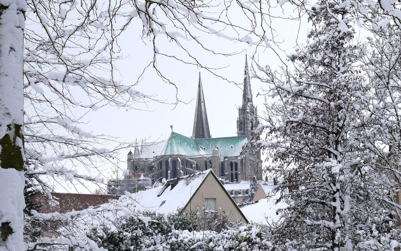 Chartres à Noël