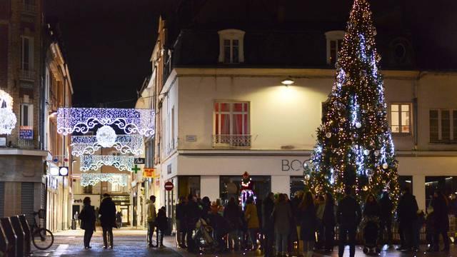 Sapin de Noël à Chartres