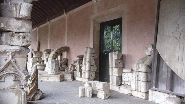 Vestiges de l'abbaye de Josaphat
