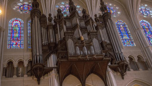 Chartres cathedral organ