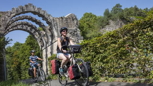 Randonnée vélo à Maintenon