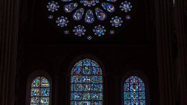 Rosace Ouest de la cathédrale Notre-Dame de Chartres