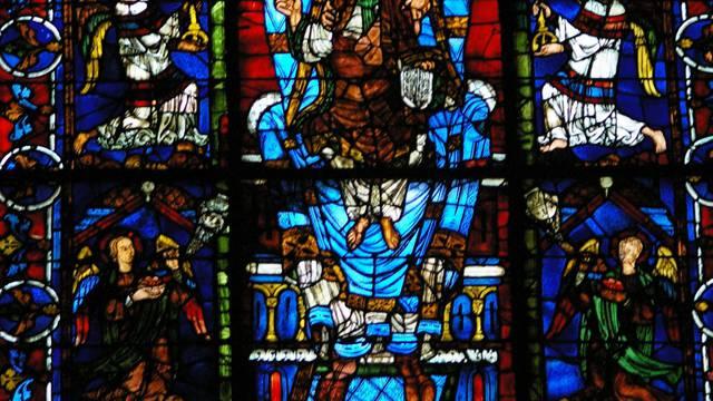 Le bleu de Chartres