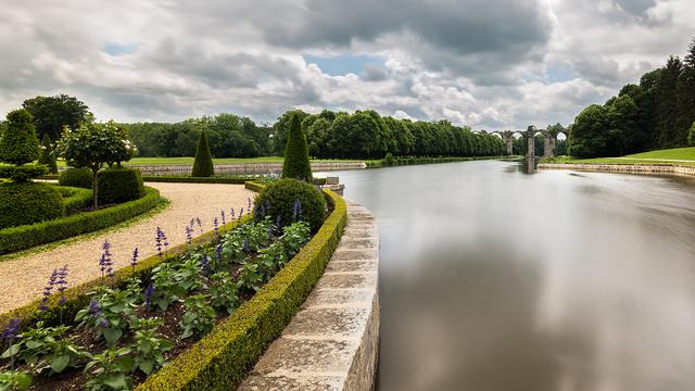 Maintenon Castle's gardens