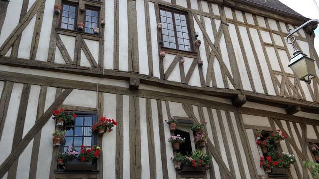 Maison à pans de bois à Chartres