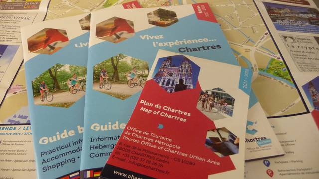 Supports de communication de l'Office de Tourisme