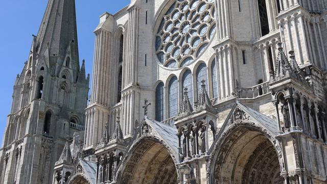 Portail Sud de la cathédrale de Chartres