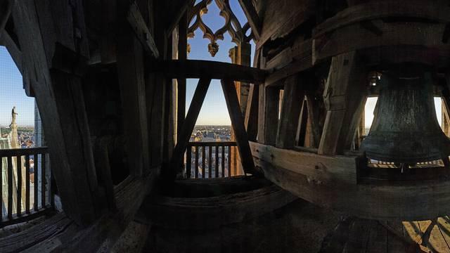 Vue depuis les cloches de la cathédrale