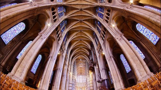 Nef de la cathédrale de Chartres
