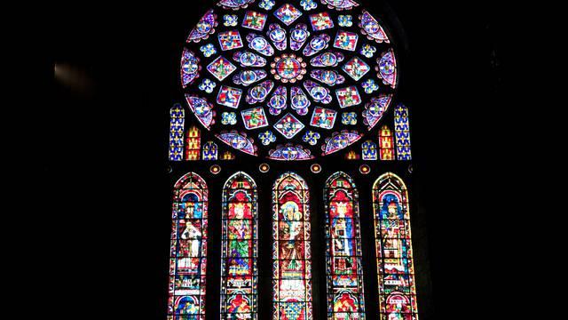 Ses vitraux