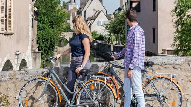 Balade à vélo dans Chartres