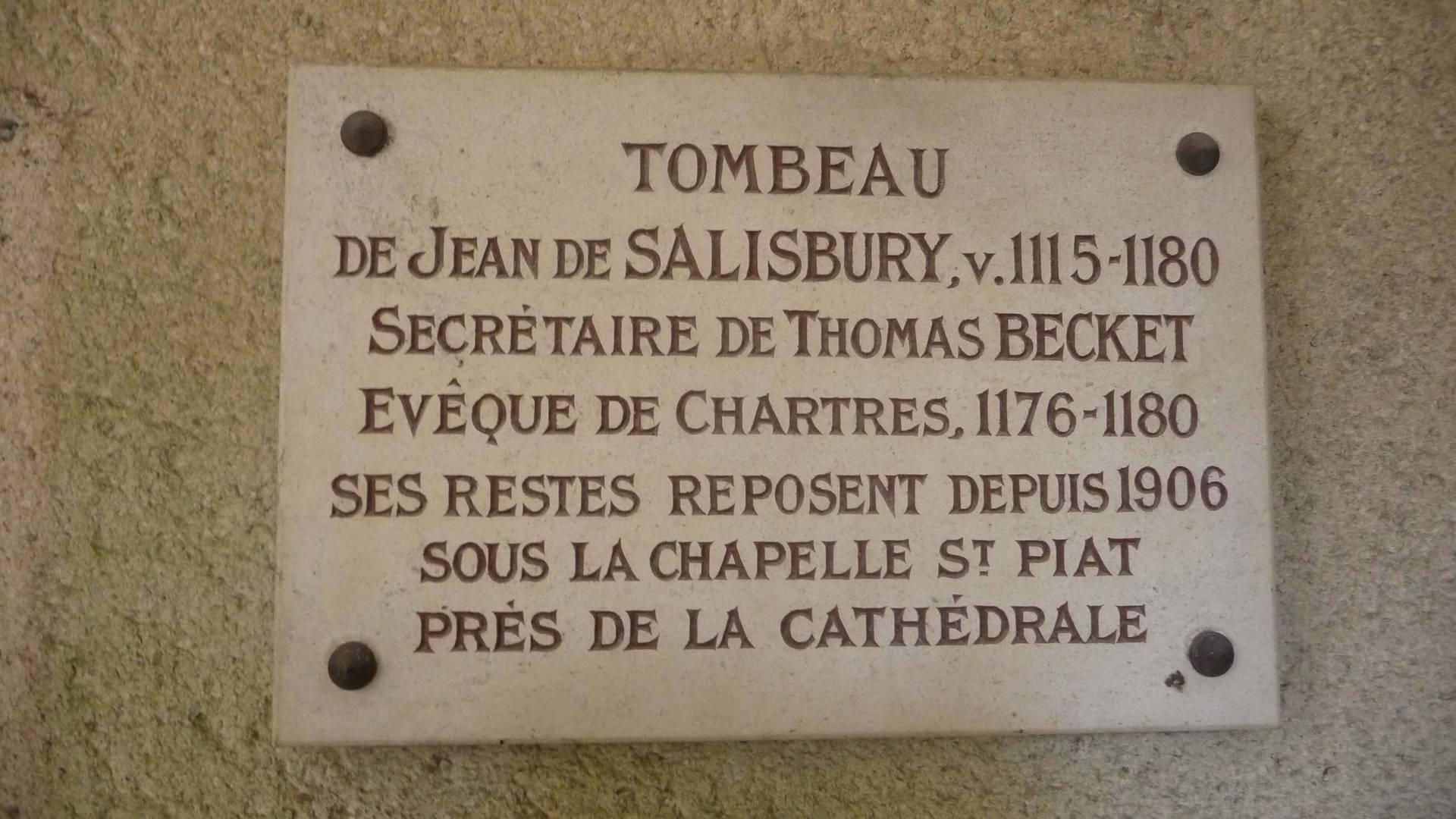 Tombeau de Jean de Salisbury