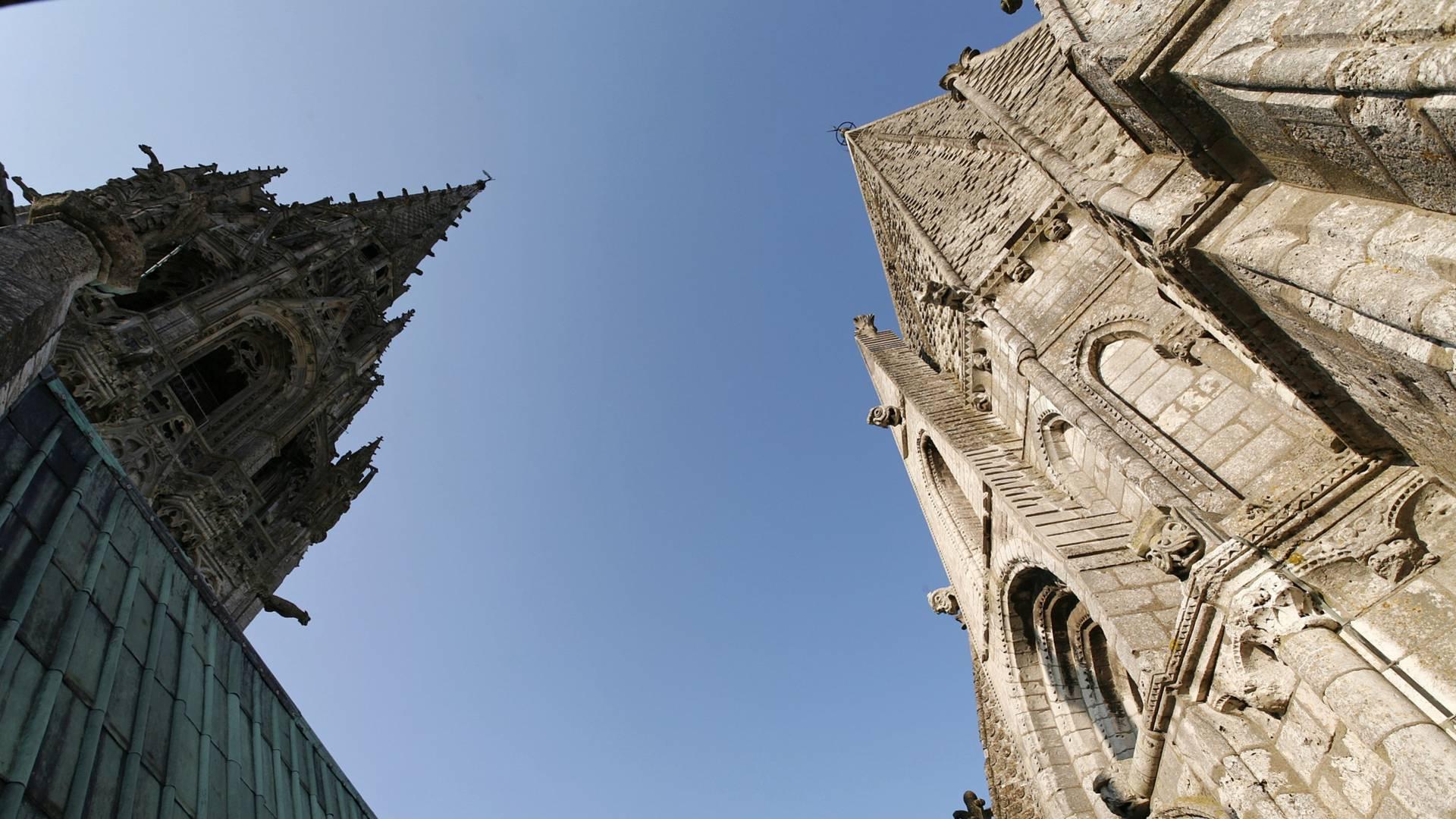 Hauteurs de la cathédrale