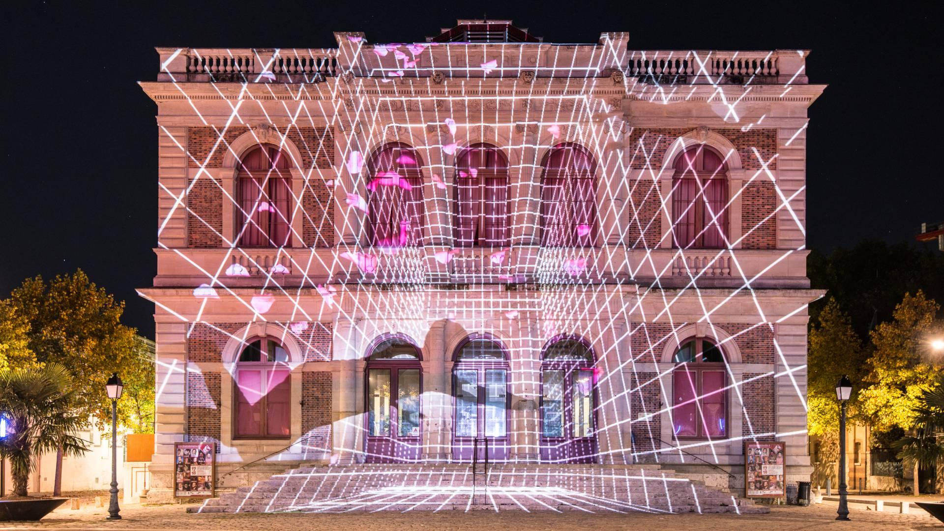 Illusion d'optique de Théâtre de Chartres