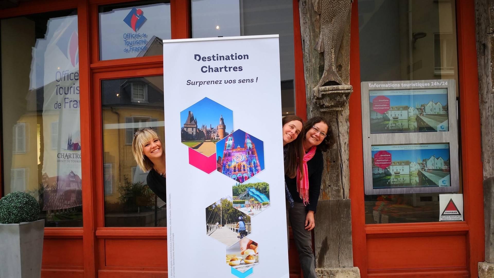 Service commercial groupe de l'Office de Tourisme