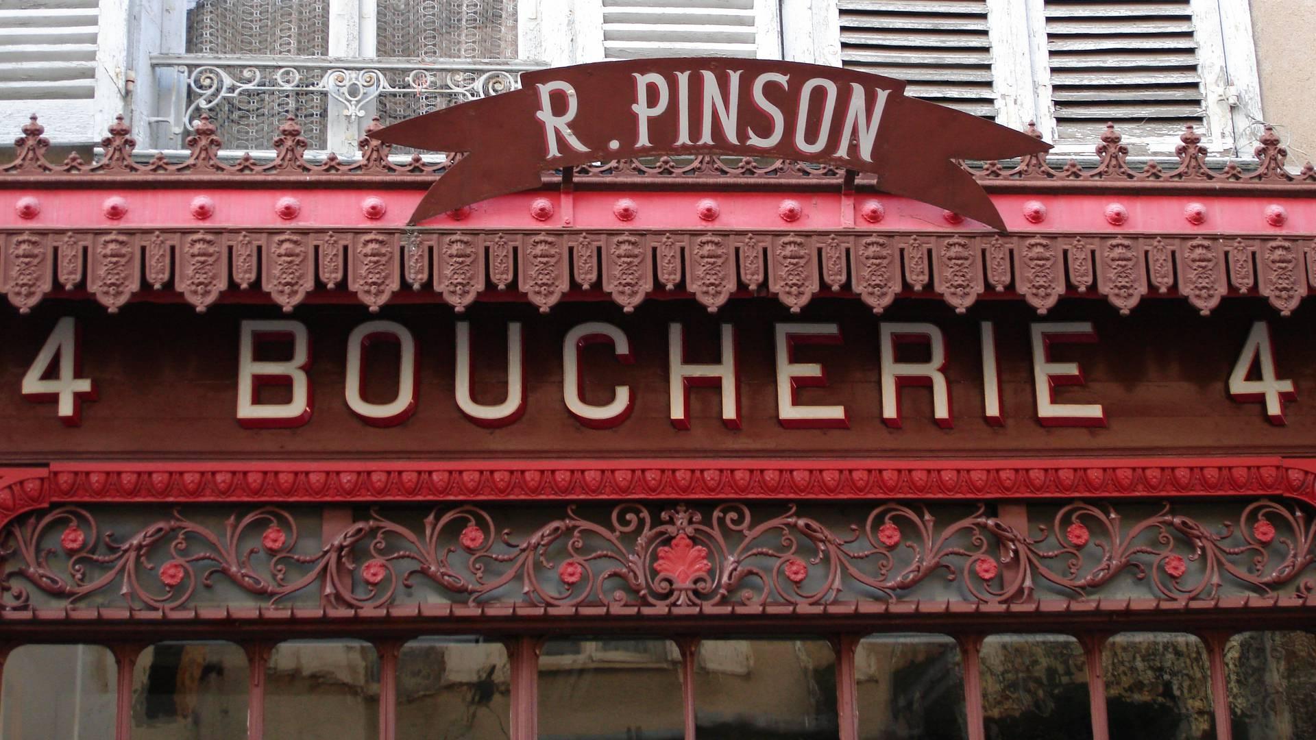 Boucherie Pinson en centre-ville de Chartres