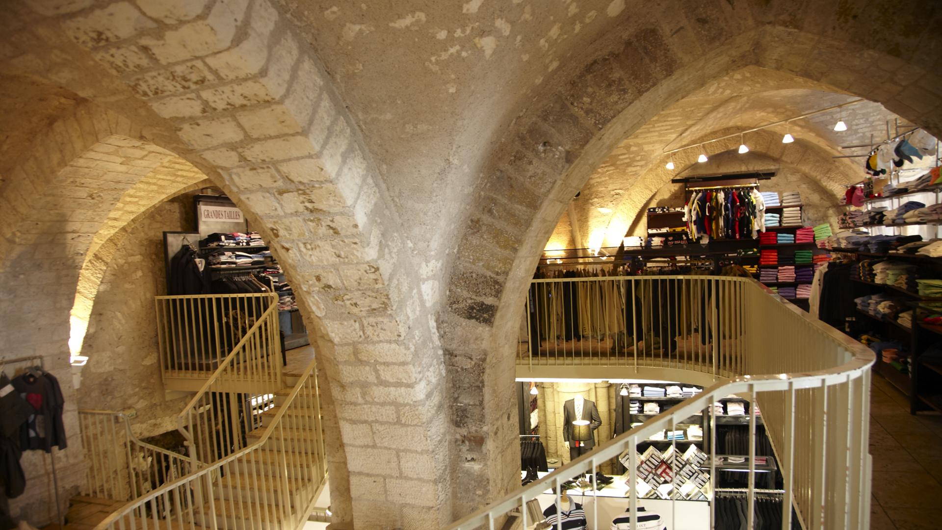 Vue intérieur de Covent Gardent à Chartres