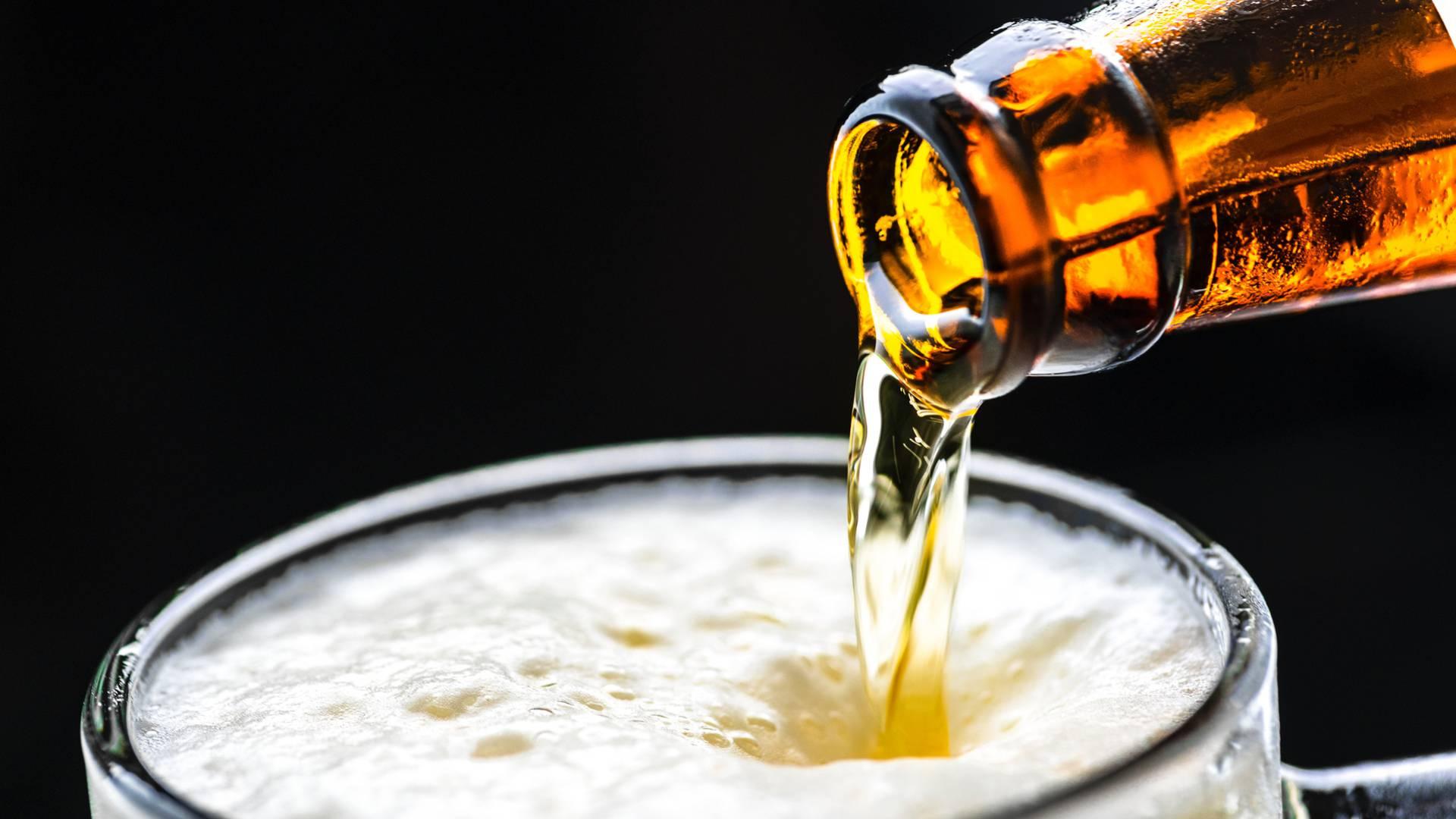 Illustration de bière