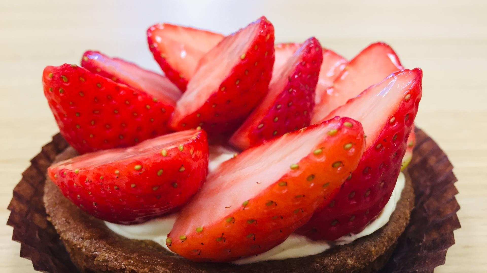Tartelette aux fraises de Maintenon