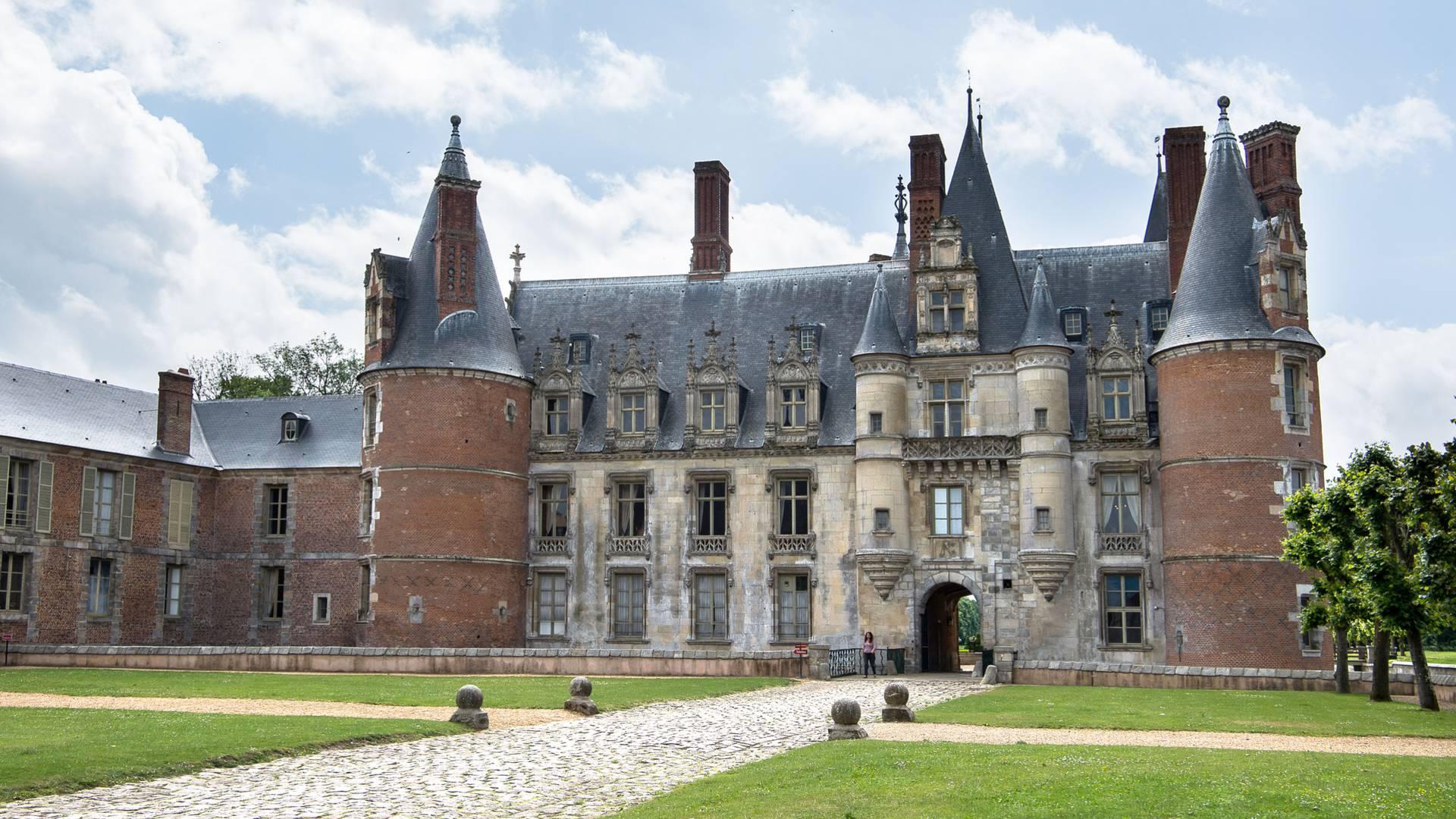 Extérieur du château de Maintenon