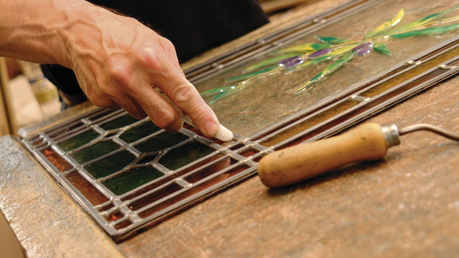 Travail du verre par Denis Picol