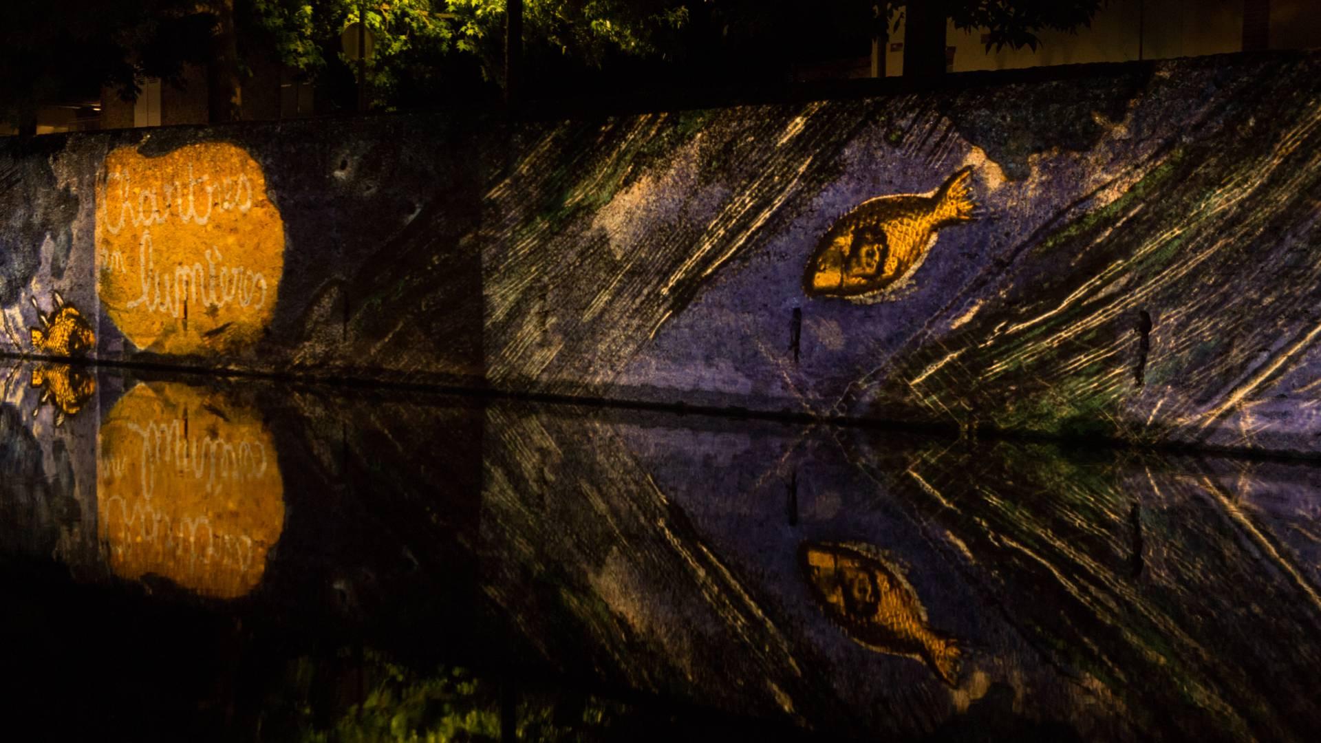 Création Artway Chartres pour Chartres en lumières