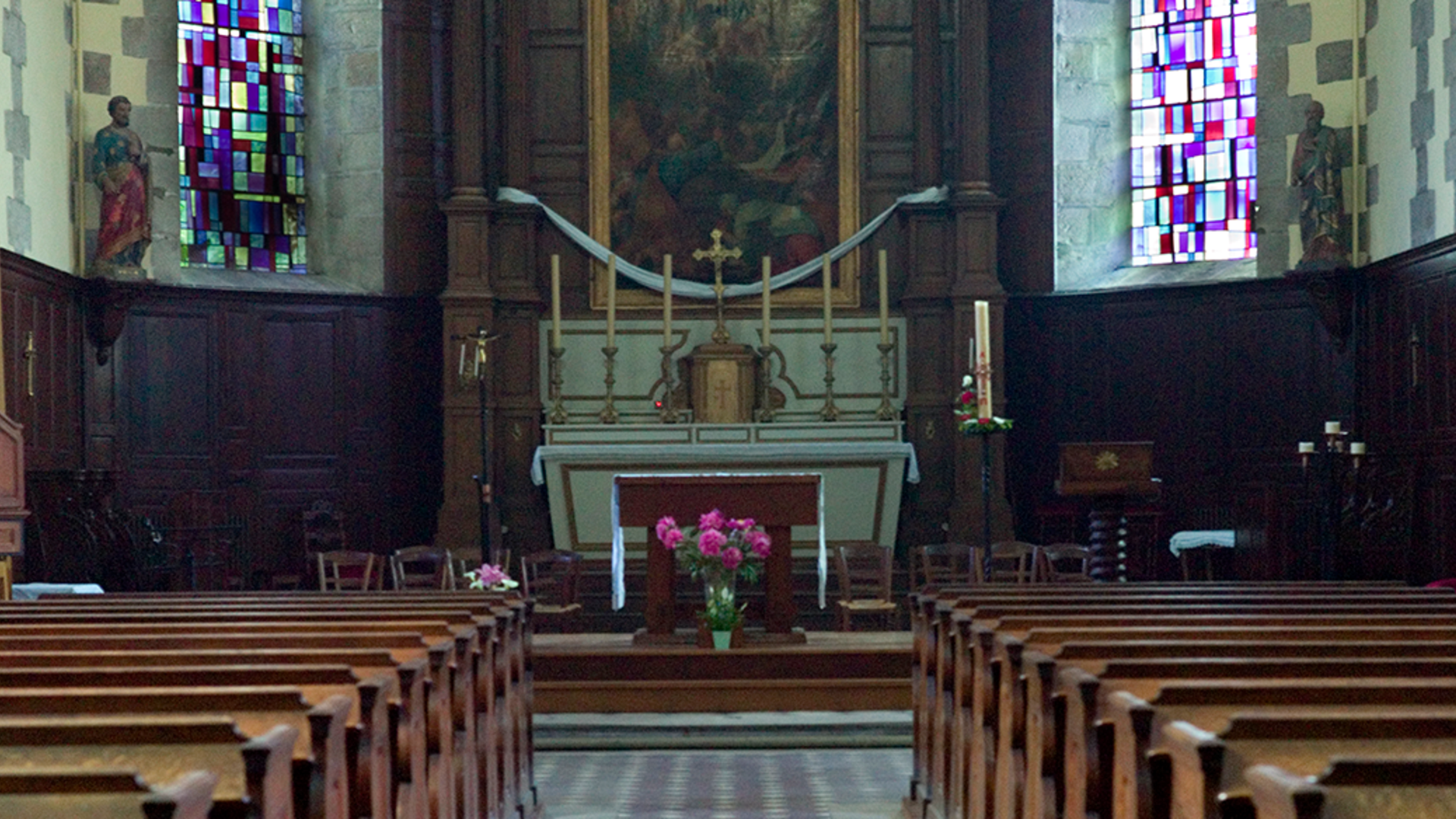 Nef de l'église de Saint-Pierre de Maintenon