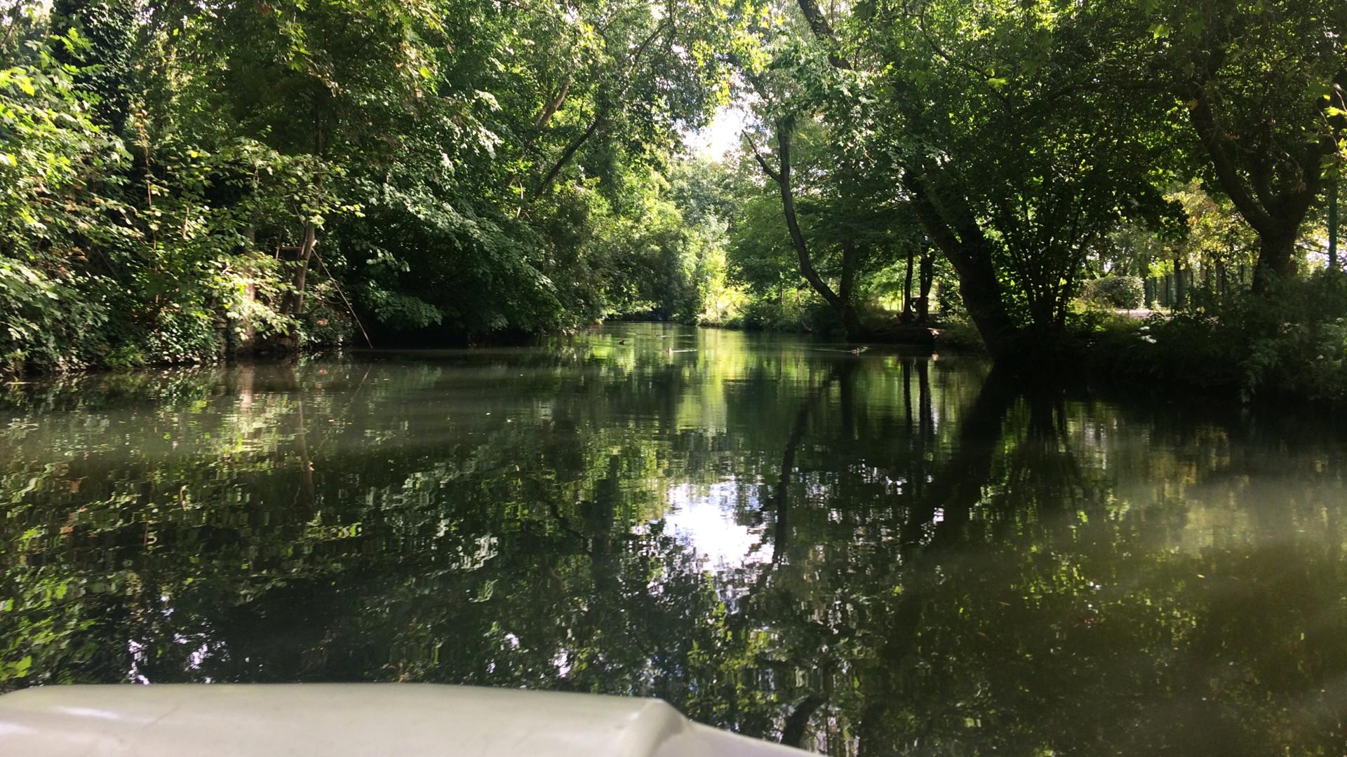 Balade en pedal'eau avec la Guinguette de Chartres