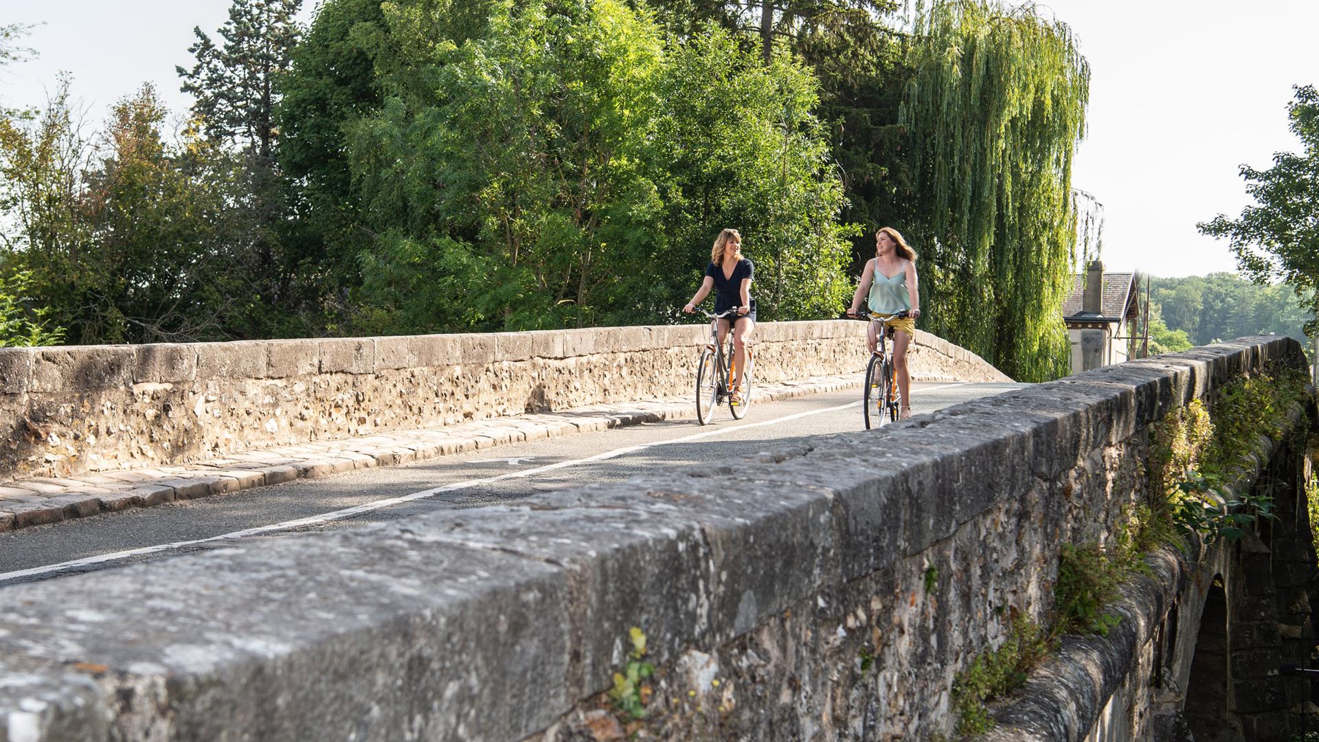 Balade à vélo dans Maintenon