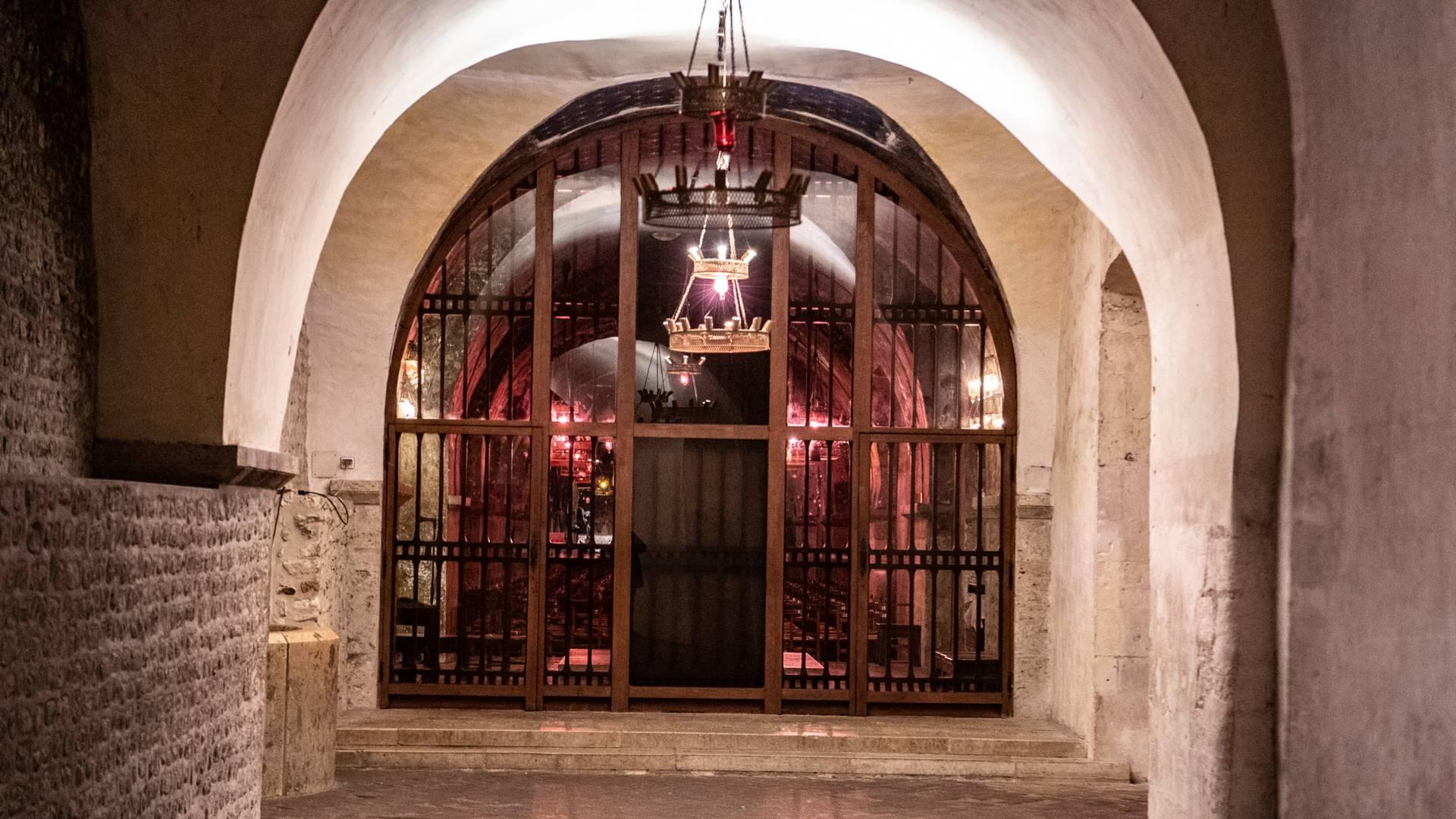 Crypte de la cathédrale de Chartres