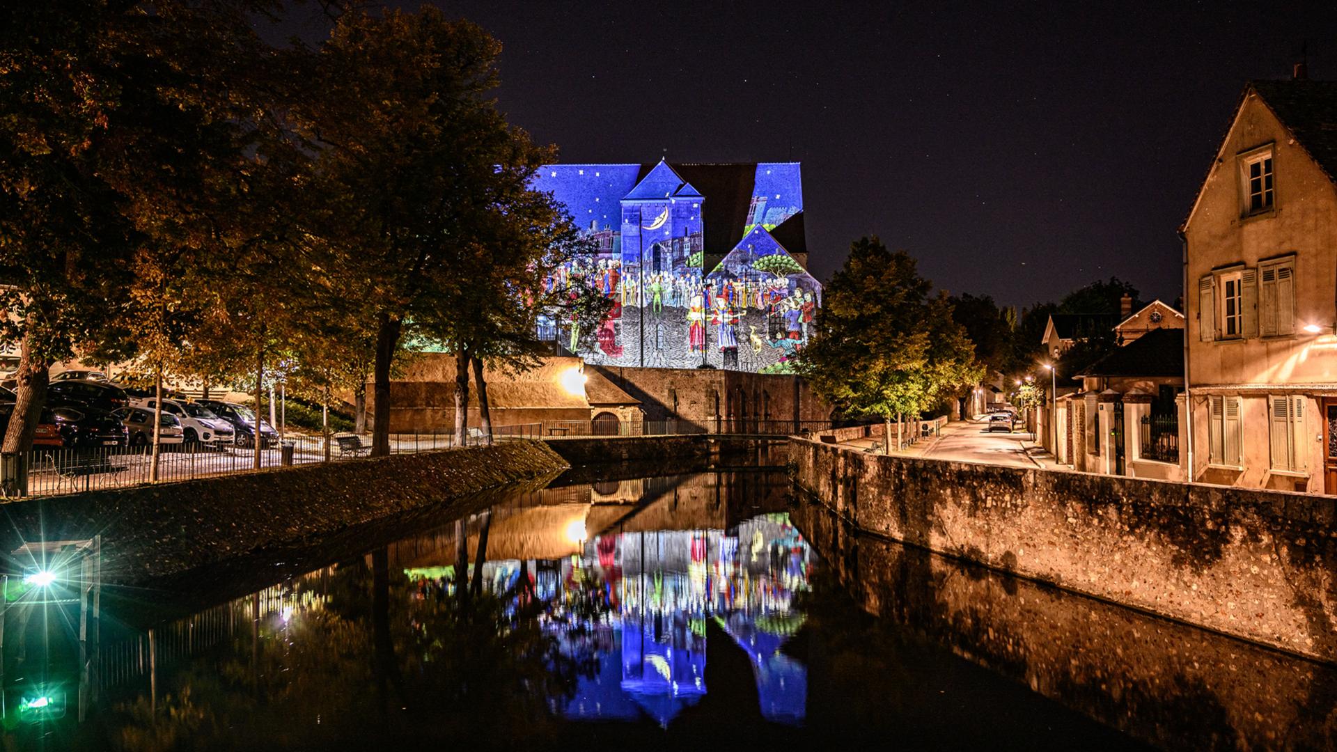 Chartres en lumières en basse ville