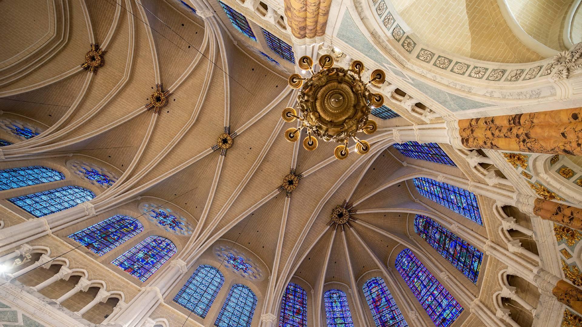 Intérieur de la cathédrale de Chartres