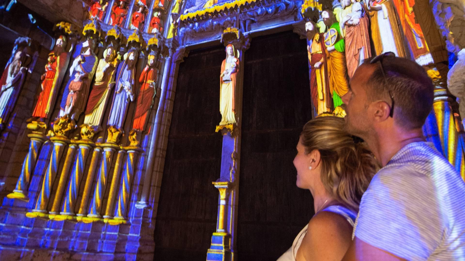 Wunder vor Chartres en lumières