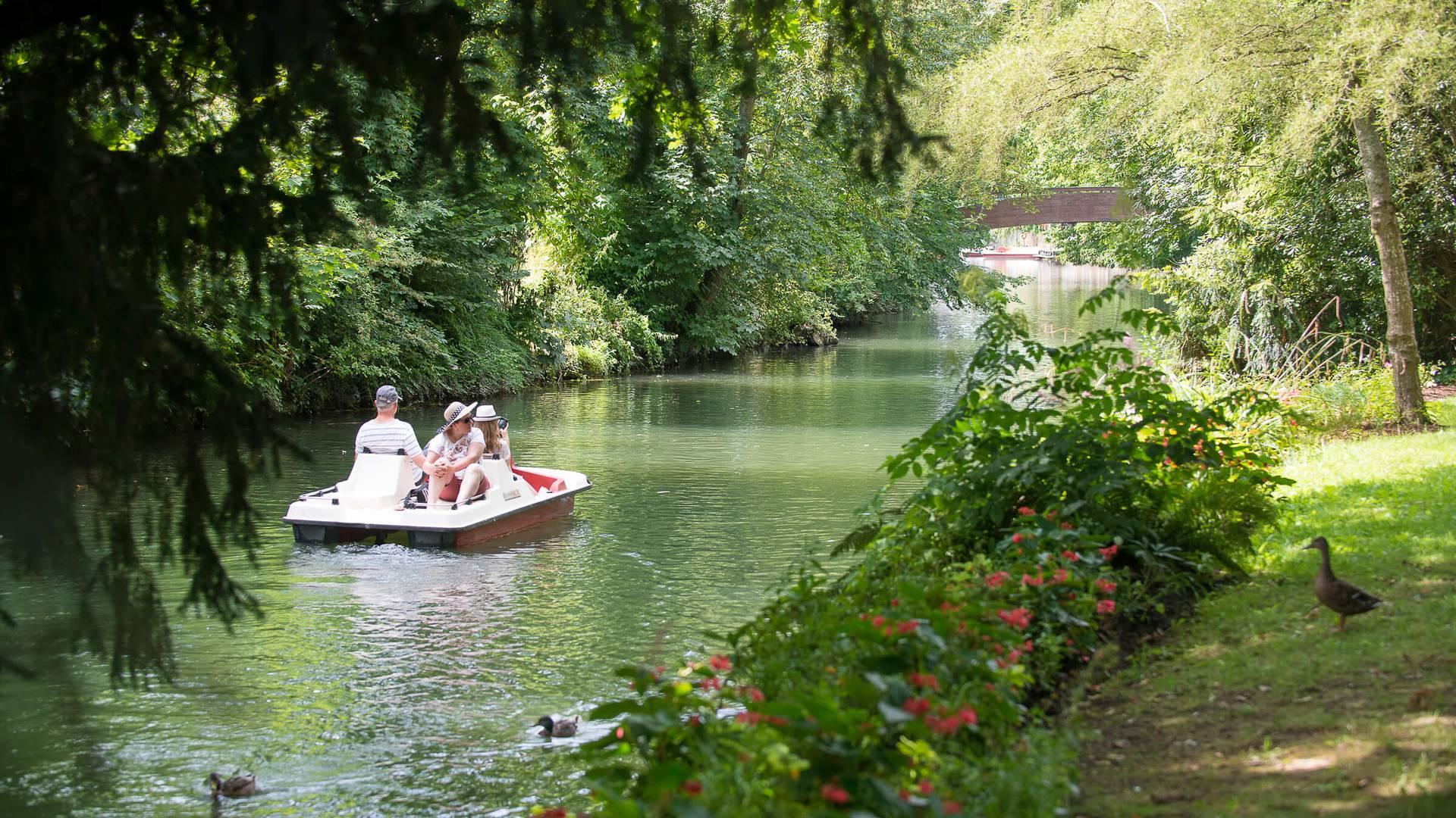 Se promener sur l'Eure en pédal'eau