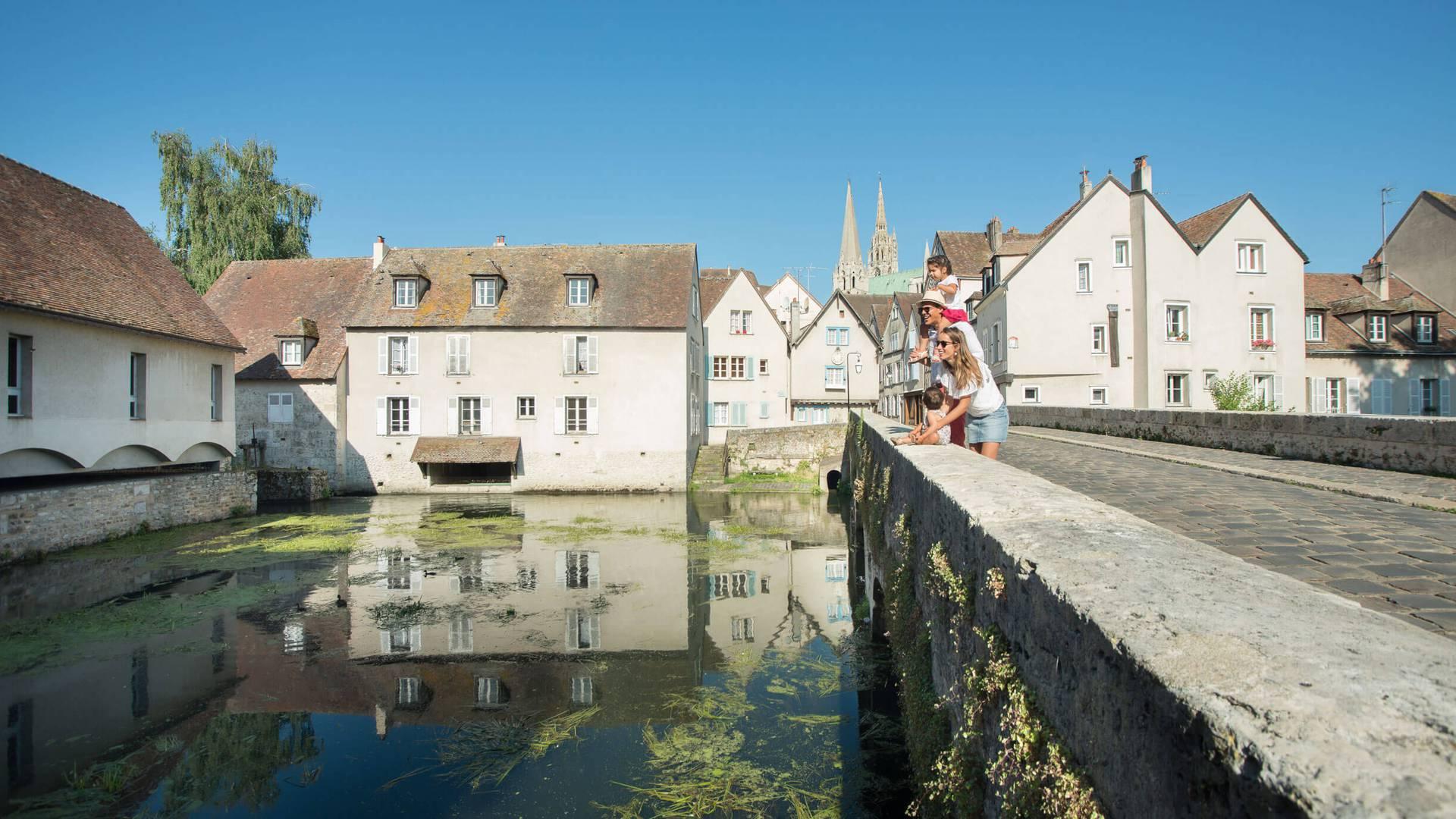 Visiter Chartres depuis le Pont Bouju