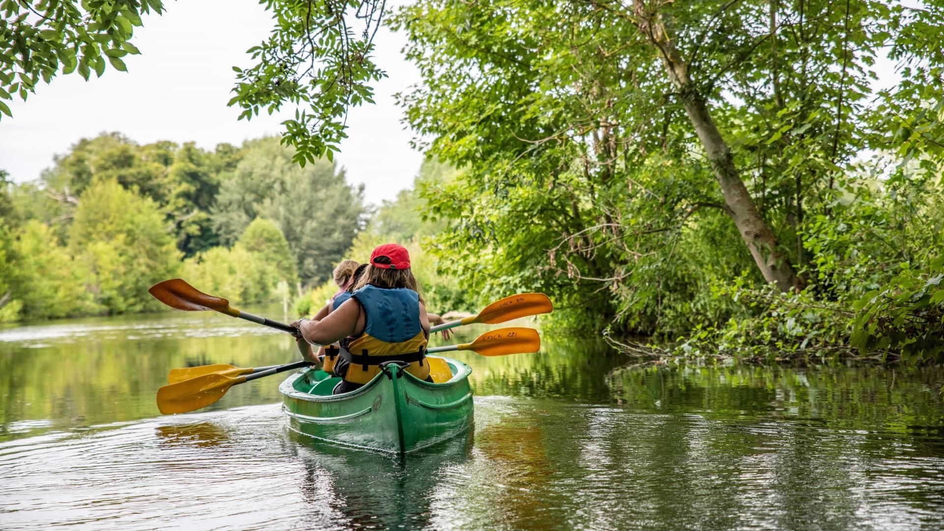 Balade en canoë-kayak