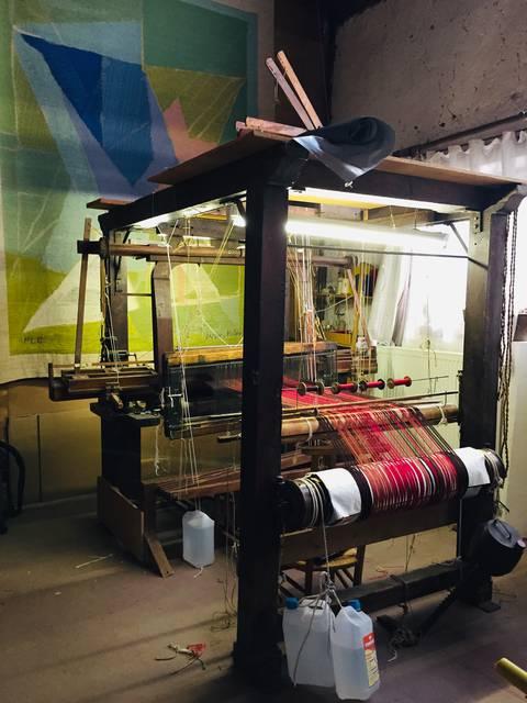 Atelier de tissage de Houx © C'Chartres Tourisme