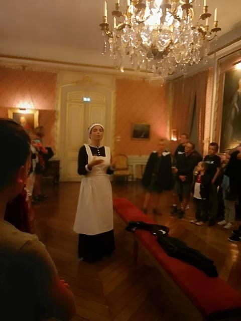 Miss Carter - Visite nocturne du château de Maintenon