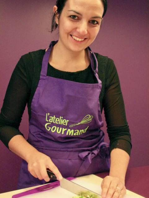 Portrait d'Aurélie de l'Atelier Gourmand - © Atelier Gourmand