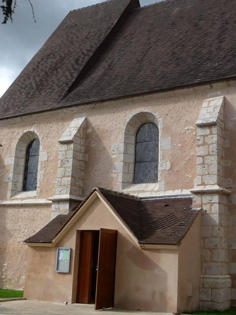 Eglise Saint-Pantaléon de Lucé © Camille Ansquer