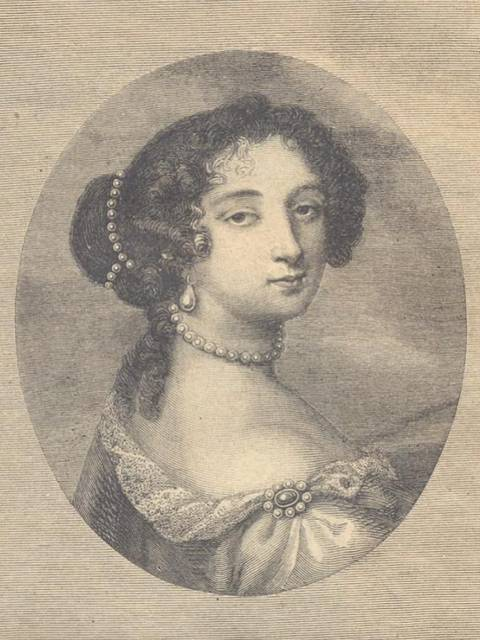 Portrait de madame de Maintenon de Nicolas II de Larmessin