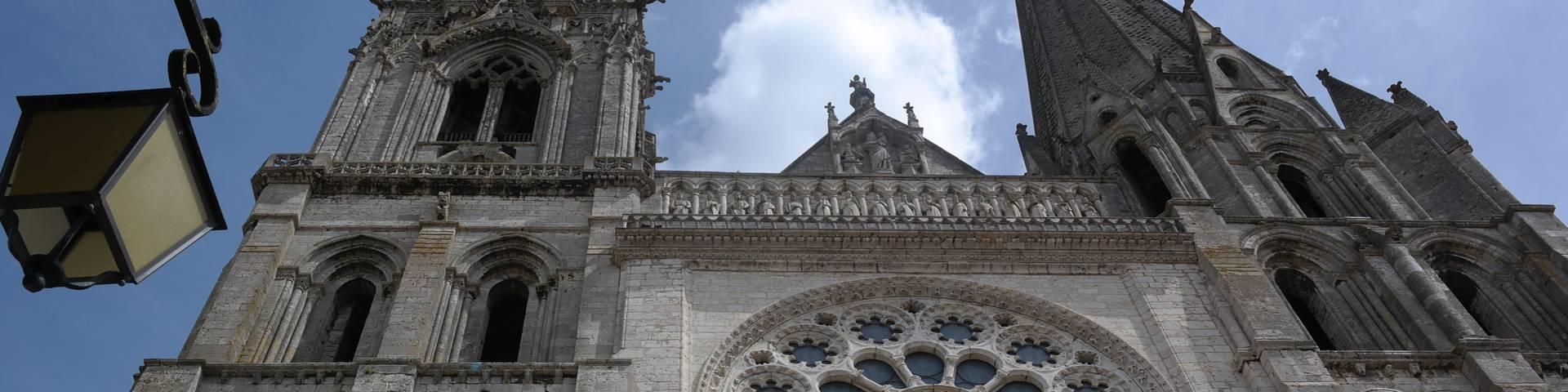 Façade de la cathédrale de Chartres