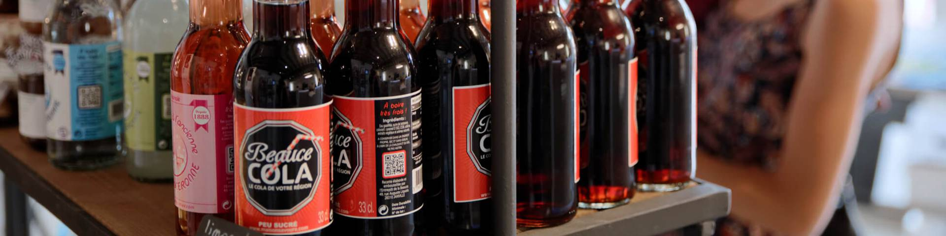 Beauce Cola at the Tourist Office boutique