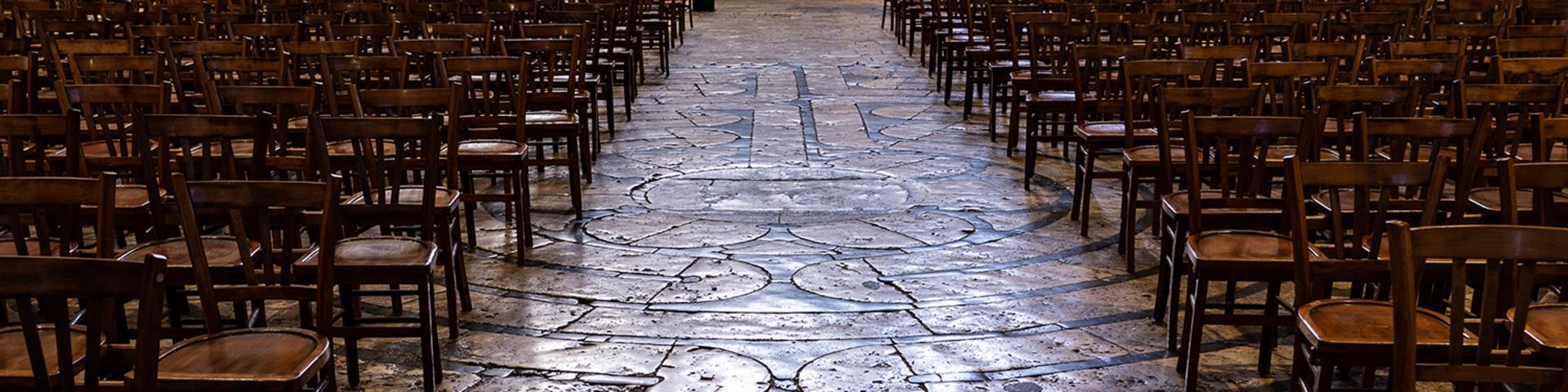 Travée de la nef de la cathédrale de Chartres